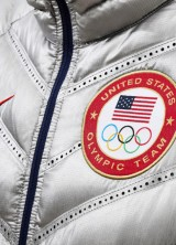 U.S. Athletes in Nike Slick Silver and Fleece at 2014 Sochi Winter Olympics