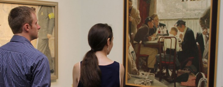 The Norman Rockwell painting titled Saying Grace has sold at an auction for a record $46 million