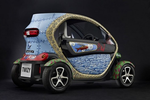Renault Twizy gets an artistic makeover