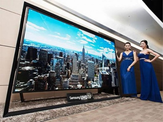 Samsung has began with selling its giant, ultra high resolution, 110-inch TV screen