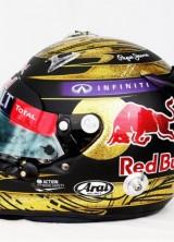 Sebastian Vettel's Helmet Reached $118,000 at Charity Auction