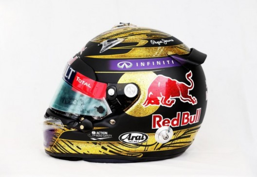 Sebastian Vettel's Formula One helmet sells for record $118,000 at charity auction