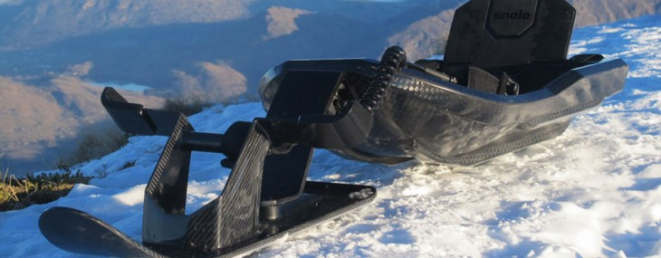 Snolo Stealth-X – Innovative Carbon-fiber Sled