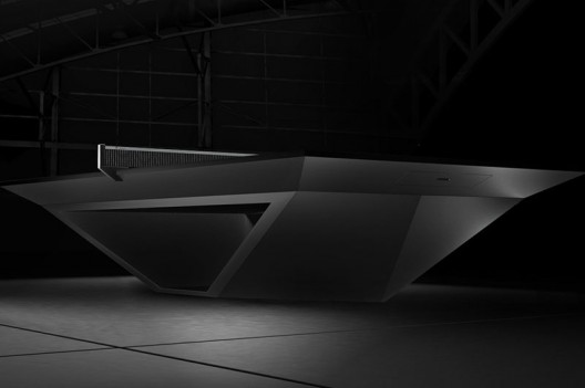 $70,000 Eleven Ravens Stealth Premier Ping-Pong Table