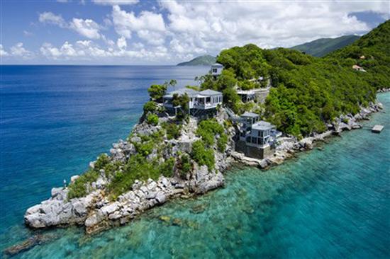 Steel Point Villa on Tortola, British Virgin Islands on Sale for $15 Million