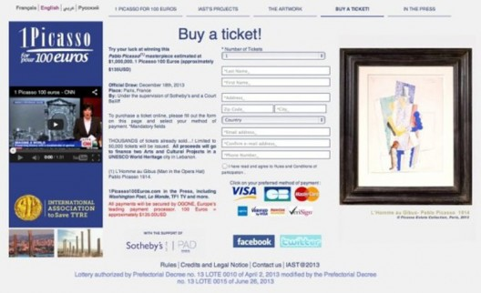 $1mn Picasso yours for just $135