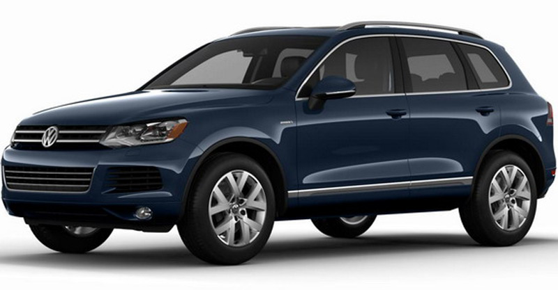 Touareg X for the U.S. market is based on the Touareg TDI Clean Diesel Lux