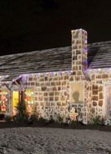 Holiday cheer in Texas has become even sweeter thanks to a giant gingerbread house that has broken a world record for confectionary construction