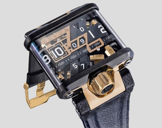 Devon Tread 1G transforms time with belts, gold and tech