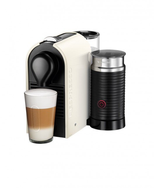 Nespresso UMilk Features Attached Aeroccino and Sleek Design