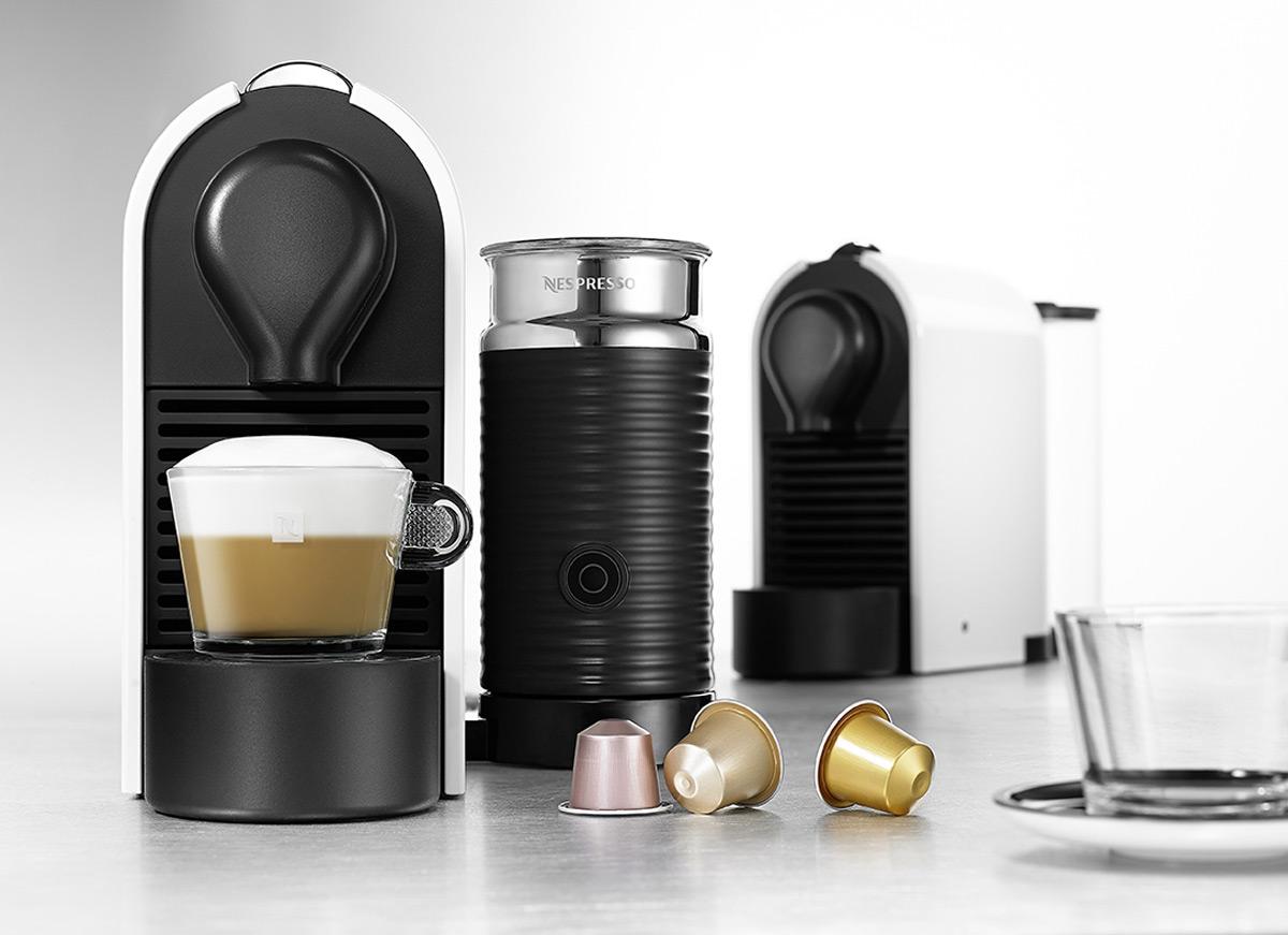 Nespresso UMilk Features Attached Aeroccino and Sleek Design