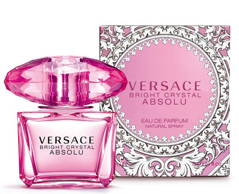 new versace bright crystal absolu comes for valentine 39 s. Black Bedroom Furniture Sets. Home Design Ideas
