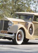 1934 Packard Twelve Convertible Sedan at Auctions America's Fort Lauderdale Sale