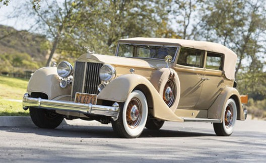 1934 Packard Twelve Convertible Sedan at Auctions America's Fort Lauderdale