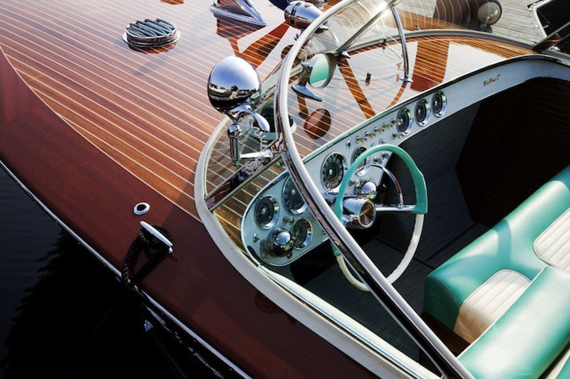 Classic 1958 Riva Tritone Yacht Owned by Prince Rainier & Princess Grace of Monaco Set For Auction