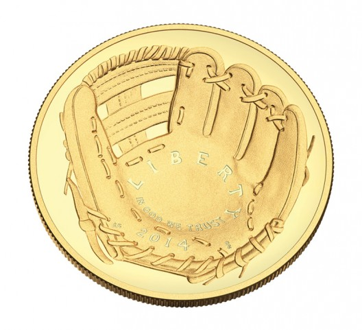 First Curved-Coin Minted by U.S. Mint Celebrates National Baseball Hall of Fame