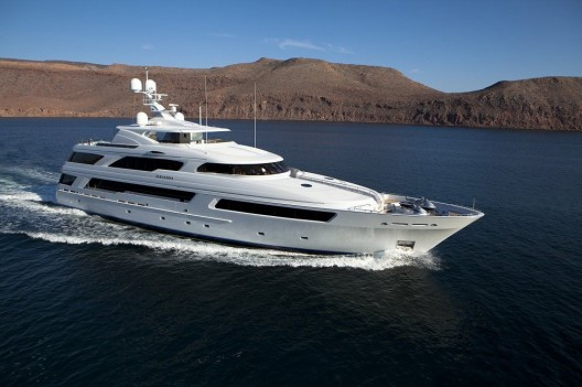 """""""World's Largest Full-Displacement"""" 50-Meter Superyacht Arianna for Sale at $45.9M"""