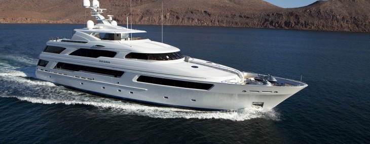 """World's Largest Full-Displacement"" 50-Meter Superyacht Arianna for Sale at $45.9M"