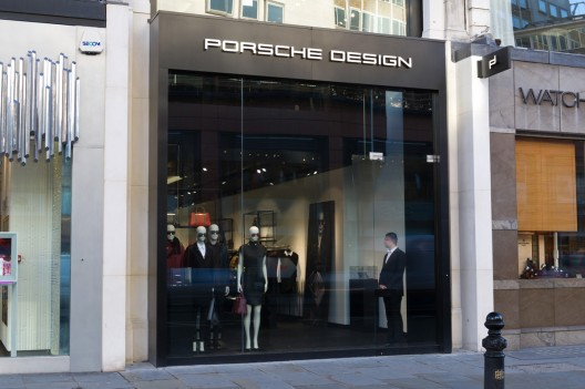 50 new Porsche Design sales areas