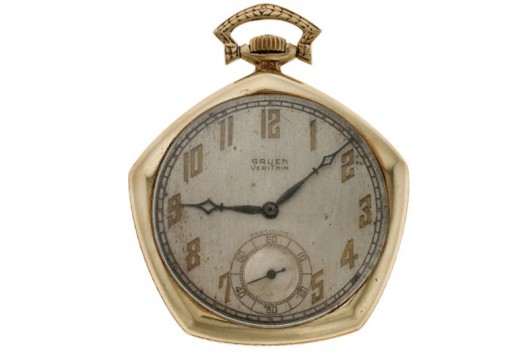 Babe Ruth's Gruen Pocket Watch From 1923 Yankees World Series Up For Sale At Heritage Auctions