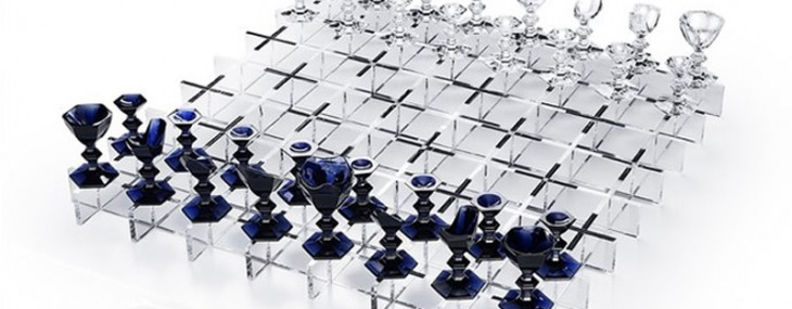 Baccarat Giant Anniversary Chess Set