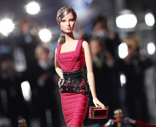 French fashion house Hervé Léger dresses up the humble Barbie doll