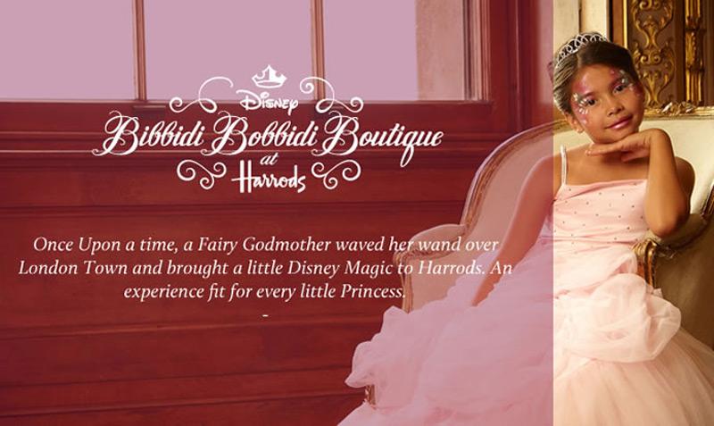 Disney 'Bibbidi Bobbidi' Boutique at Harrods transforms wannabe princesses into royalty for $1,650