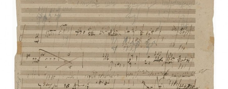 A page of Beethoven's Manuscript may auction for $200,000