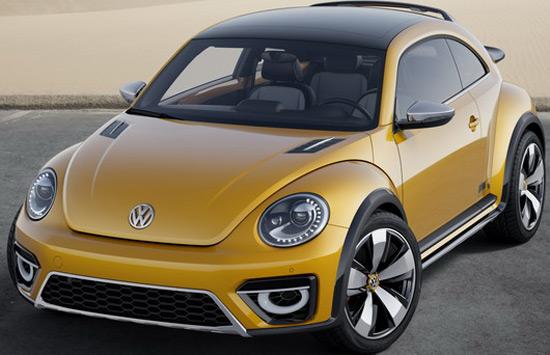 Volkswagen Beetle Dune On Detroit Motor Show