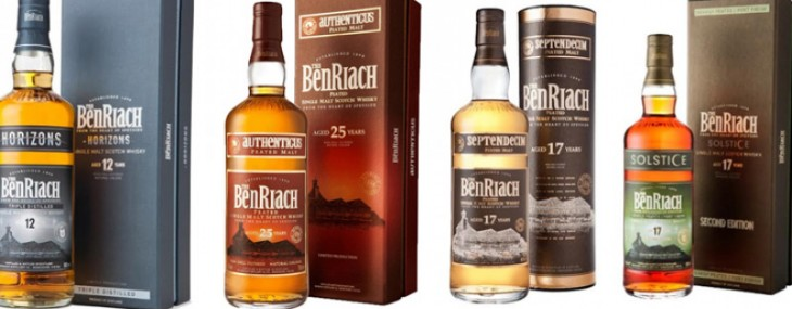 BenRiach Distillery introduces four new Scotch Whiskies