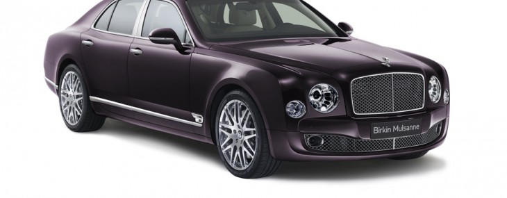 BENTLEY UNVEILS LIMITED EDITION BIRKIN MULSANNE
