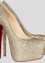 Christian Louboutin's Dazzling Crystal-studded Pumps
