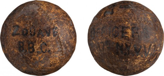 Civil War Soldier's Baseball at Heritage Auctions' Platinum Night
