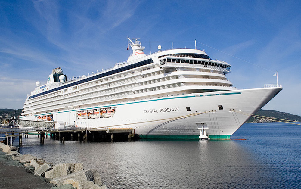 Crystal Serenity's $17M makeover adds hypoallergenic cabins