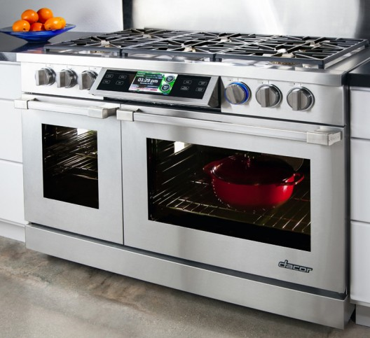 "Dacor's $12k Discovery iQ is ""World's First"" Smart Professional Cooking Range"