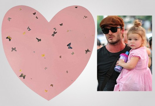 "David Beckham Splashed Out One Million on ""Daddy's Girl"""