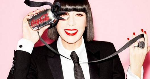 Diet Coke Unveils Can by Chantal Thomass