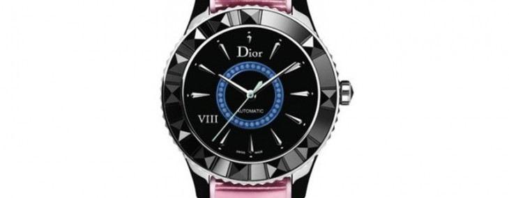Limited Edition Ceramic Dior VIII With Colored Metallic Strap