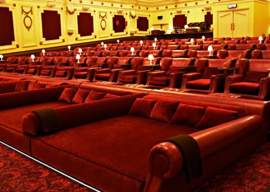 Double beds on London's Electric Cinema take comfort to the next level