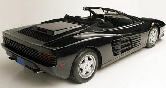Don Jackson Mitsubishi >> Michael Jackson's Ferrari Testarossa Spyder On Auction - eXtravaganzi