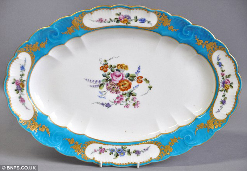 French Plate from the Court of King Louis XV Sold for $138,000