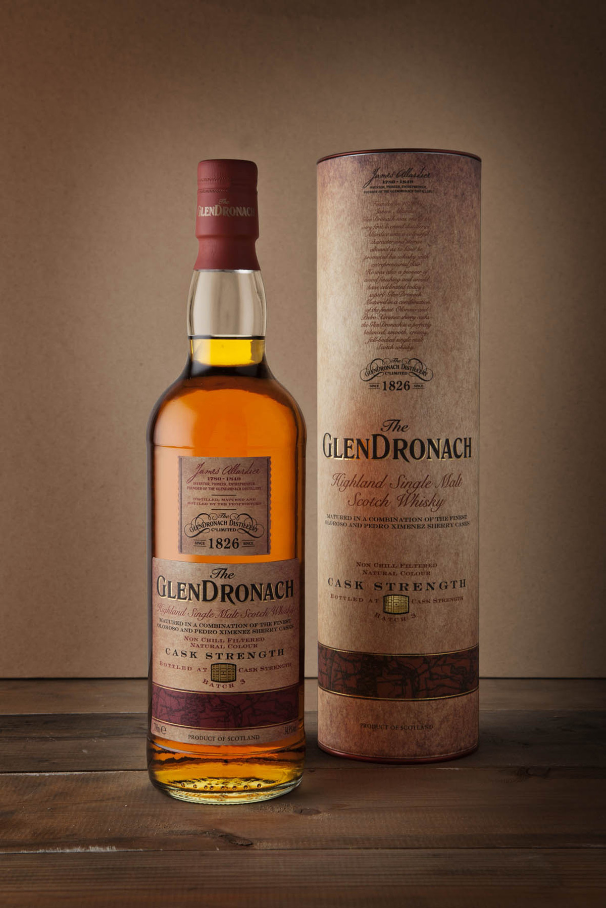 Glendronach Cask Strength Now Reaching 3rd Batch