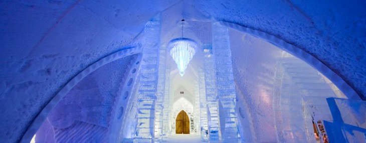 Disney Unveils Frozen Themed Suite at Hôtel de Glace