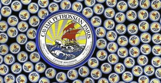 Petrossian Offers World's Largest Caviar Tin