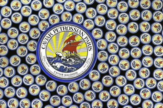 Petrossian Paris introduces 10kg caviar tin