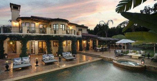 Khloe Kardashian and Lamar Odom put their California mansion on market – see inside