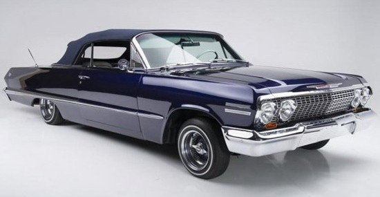 Kobe Brynat Chevrolet Impala Convertible On Auction
