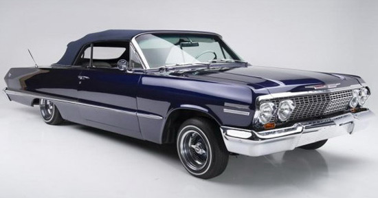 Chevrolet Impala convertible from 1963 will soon be at Barrett -Jackson auction