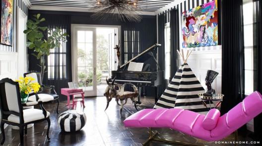 Kourtney Kardashian puts her 'Alice in Wonderland' meets 'Beetlejuice' home on market