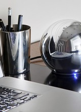 LaCie Sphere – New Hard Drive by LaCie That Looks Like Silver Plated Ball